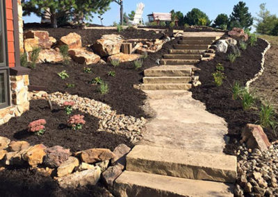 Woody's Lawn & Landscape Lincoln, NE | Hardscape Paths