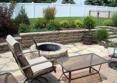 Woody's Lawn & Landscape Lincoln, NE | Fire Feature