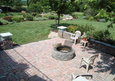 Woody's Lawn & Landscape Lincoln, NE | Backyard Family Area