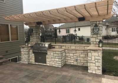 Woody's Lawn & Landscape Lincoln, NE | Outdoor Kitchen