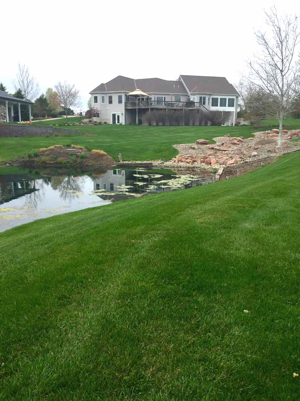 yard_3 - Lawn Care & Landscaping Services In Lincoln, NE Woodys Lawn And