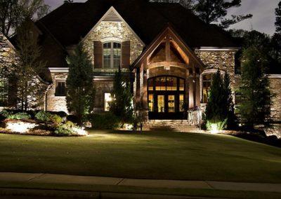 Woody's Lawn & Landscape Lincoln, NE   landscape lighting