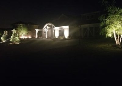 Woody's Lawn & Landscape Lincoln, NE   residential outdoor lighting